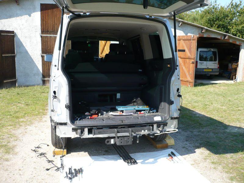 T6 Fourgon Multivan dés 2009 Attelage démontable VW T5
